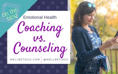 Coaching vs. Counseling?