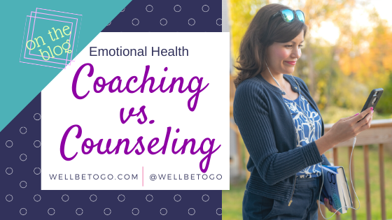Coaching vs. Counseling?